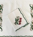 Cherries place mats