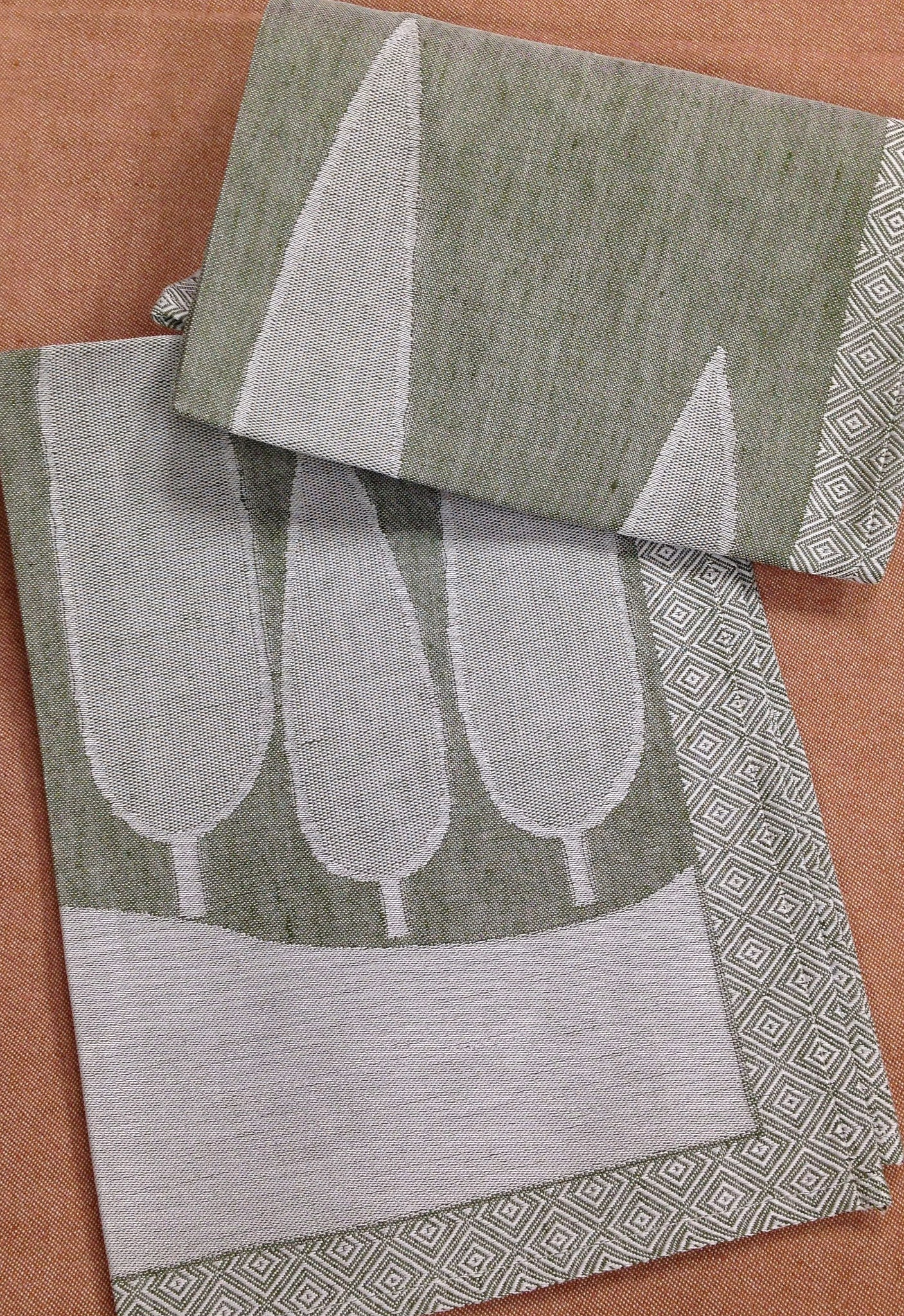 Jacquard Countryside Kitchen Towels Italian Bed Bath And