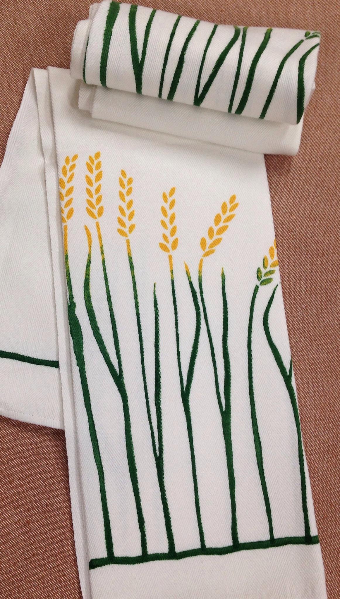 Wheat Kitchen Towel By Bertozzi Italian Bed Bath And