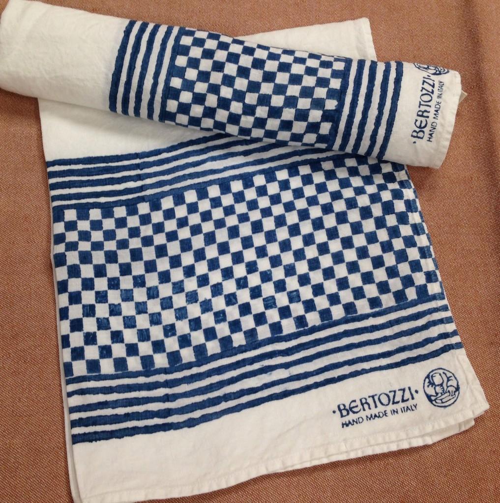 Pure Linen Contemporary Kitchen Towels By Bertozzi