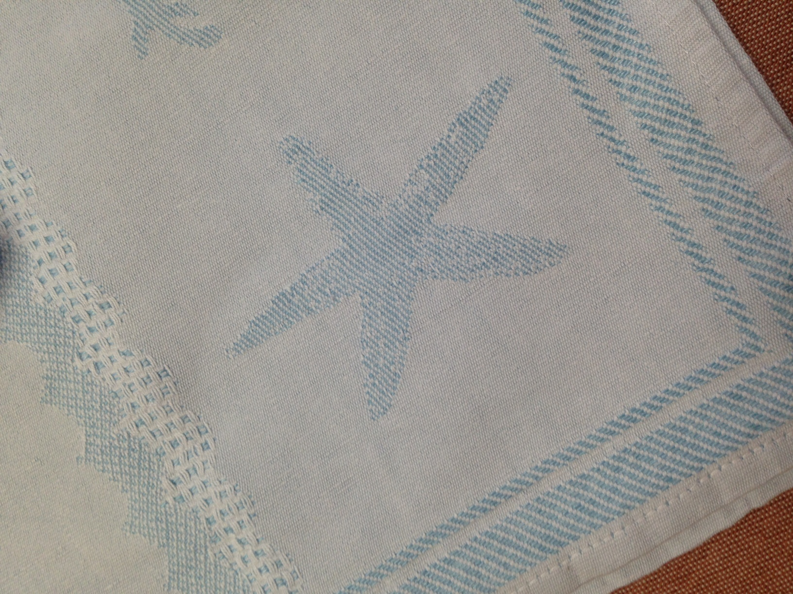 Jacquard Seaside Kitchen Towel Italian Bed Bath And