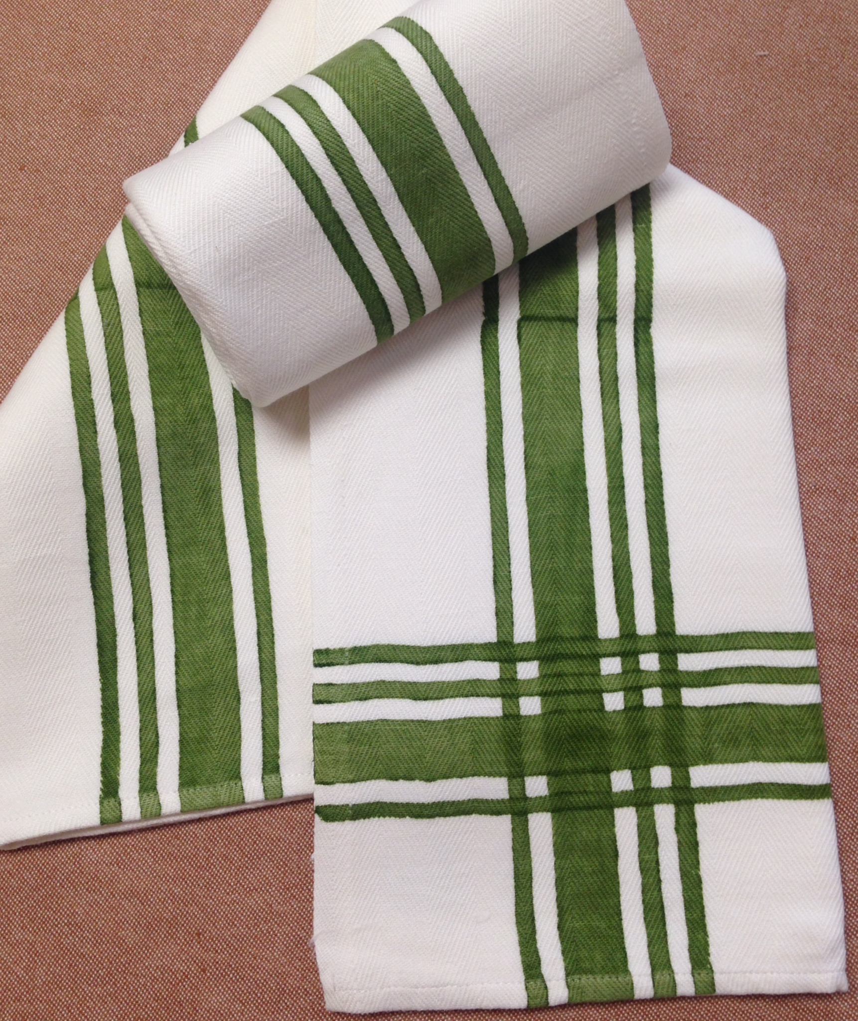 Stripe Kitchen Towel By Bertozzi Italian Bed Bath And