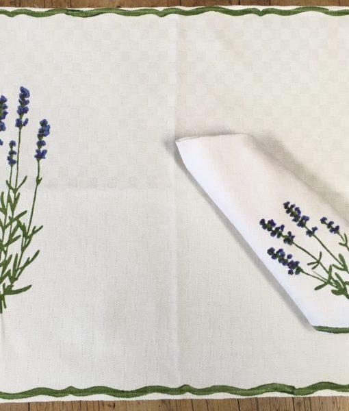 lavender place mats