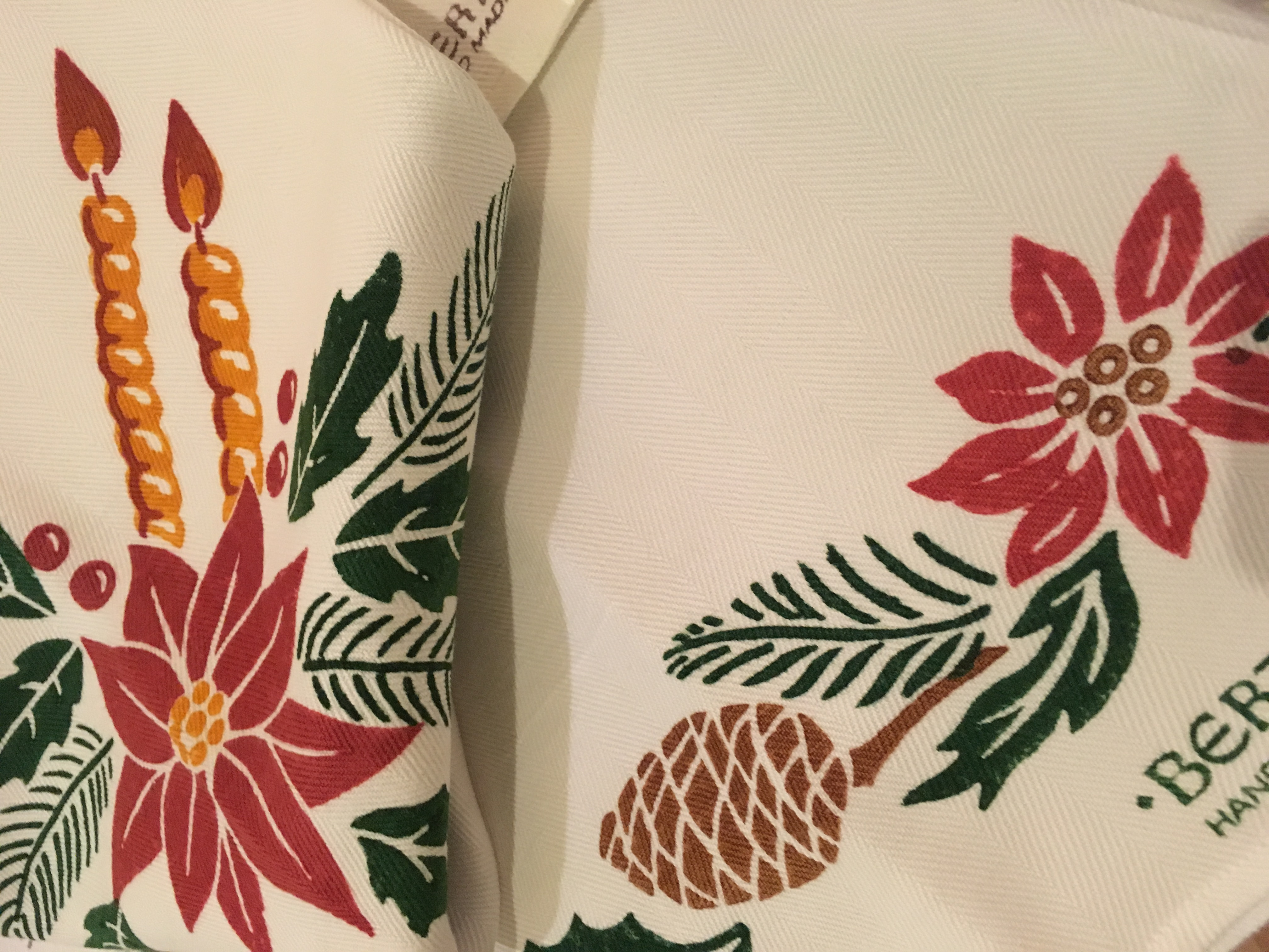 Christmas Kitchen Towels Italian Bed Bath And Table Linens